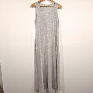 Pure Jill Pima Cotton Sleeveless Maxi Dress Pocket